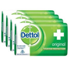 Dettol Soap Original 75g x 4pcs