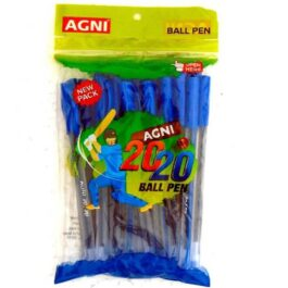 Agni 20 20 Pen 20 Pcs Blue