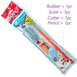 Pencil Scale Cutter Rubber Combo